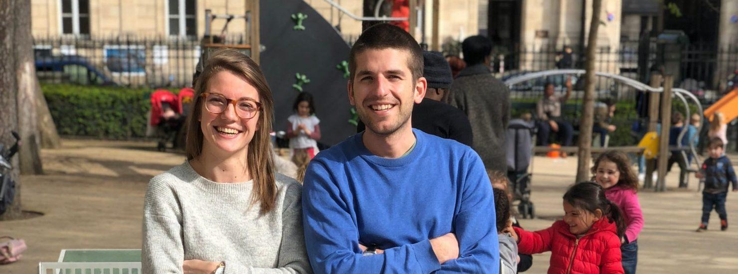 les fondateurs de la startups Baby Sittor