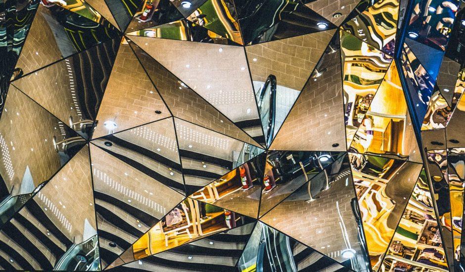 kaleidoscope de la même scène