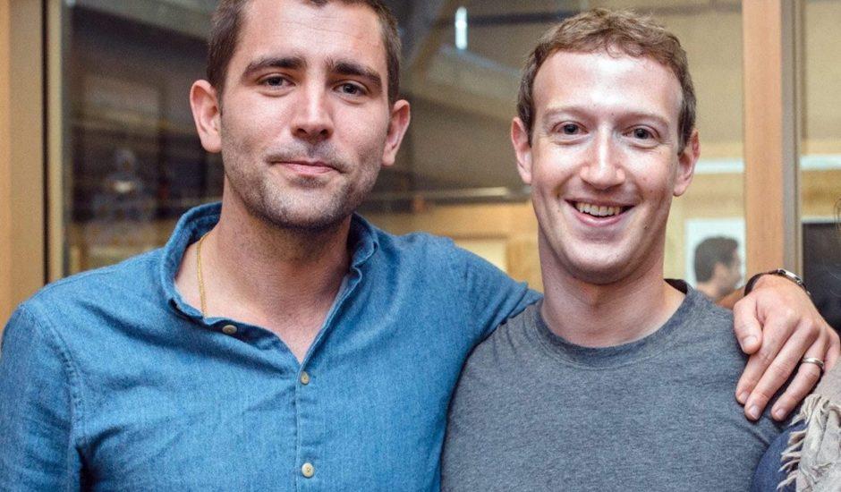 Photo de Chris Cox et de Mark Zuckerberg.