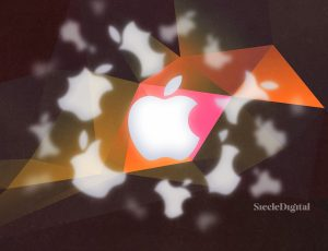 Illustration du logo de la marque Apple