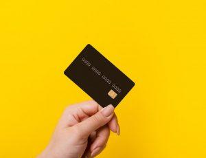 Aperçu d'une carte bancaire.