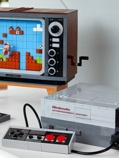 Une réplique de console NES faite en LEGO.