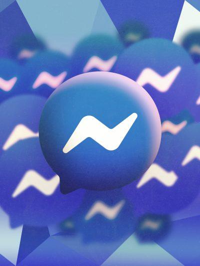 Illustration du logo de Facebook Messenger