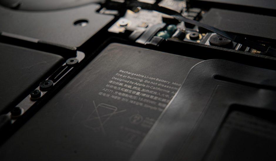 Aperçu d'une batterie au lithium.
