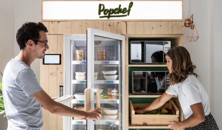 Les nouveaux frigos connectés Popchef