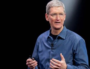Portait de Tim Cook, le CEO d'Apple
