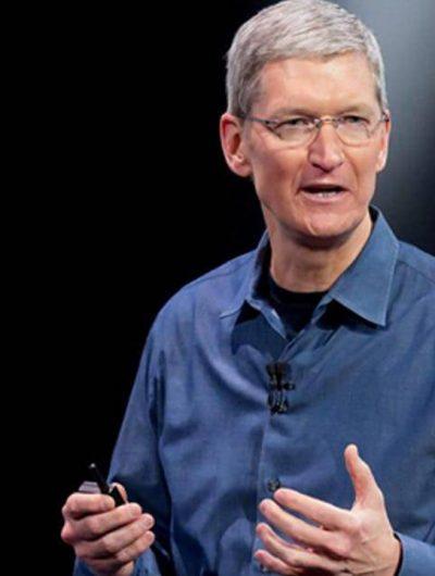 Portait de Tim Cook, le CEO d'Apple