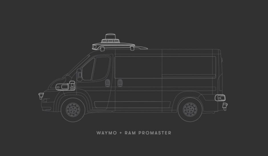 Aperçu du futur Ram ProMaster autonome.
