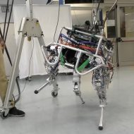 Aperçu du robot italien.