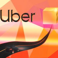 Illustration du logo de Uber