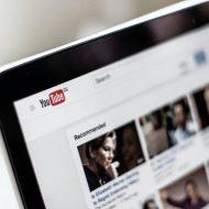 Page YouTube ouverte sur un ordinateur