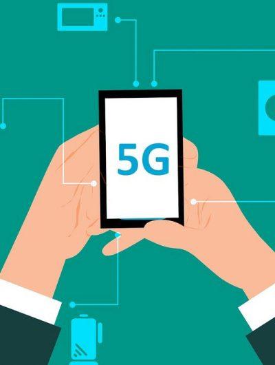 Une illustration représentant la 5G
