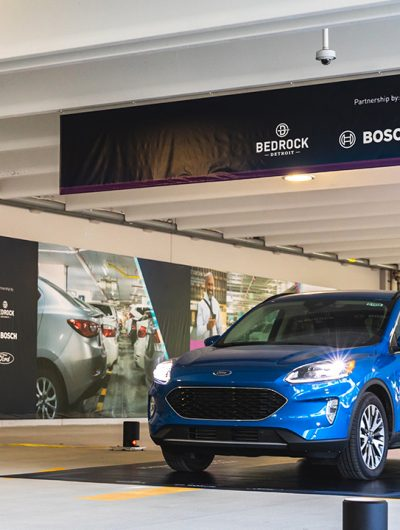 Le système de parking autonome de Bosch et Ford.