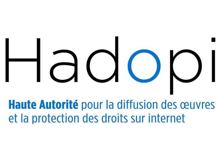 Le logo d'Hadopi