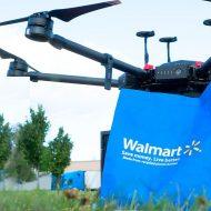Un drone de livraison de Walmart
