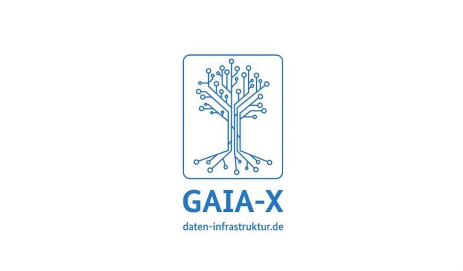 Logo de GAIA-X.