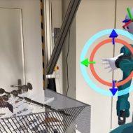 Aperçu de la plateforme de réalité augmentée Iviz.