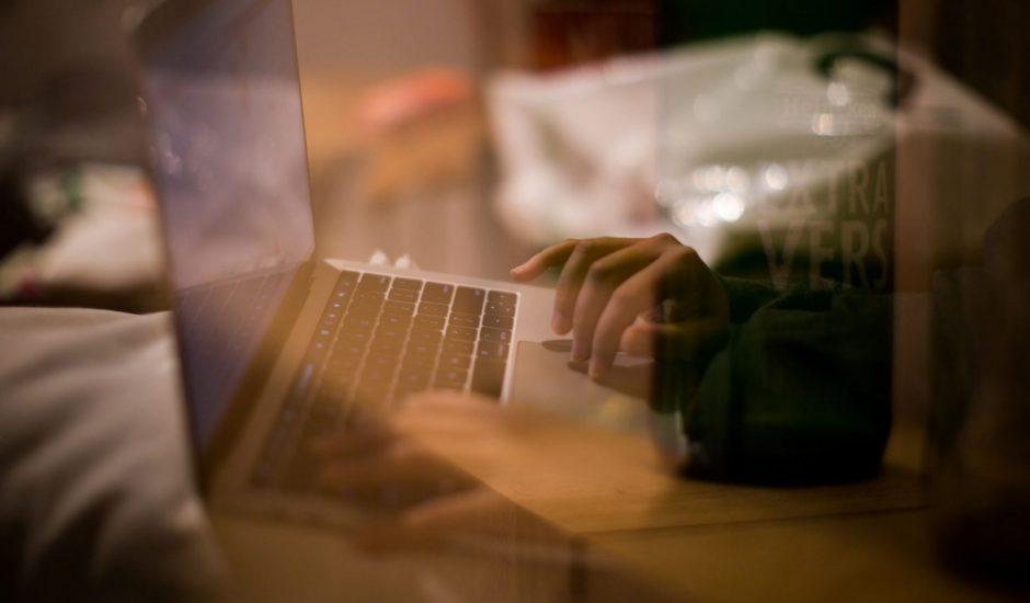 un utilisateur mac