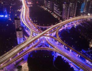 Aperçu d'une grande ville chinoise.