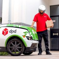 un véhicule dpd