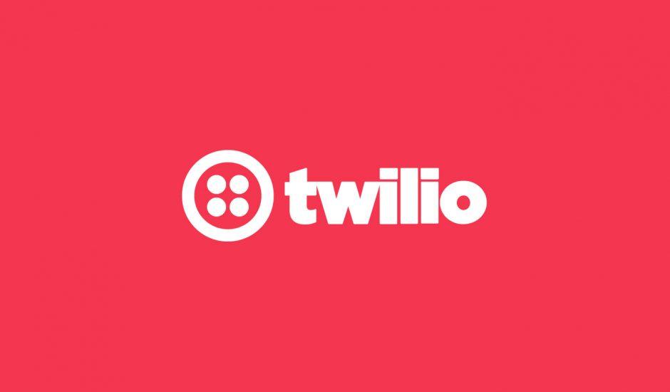 Le logo de Twilio