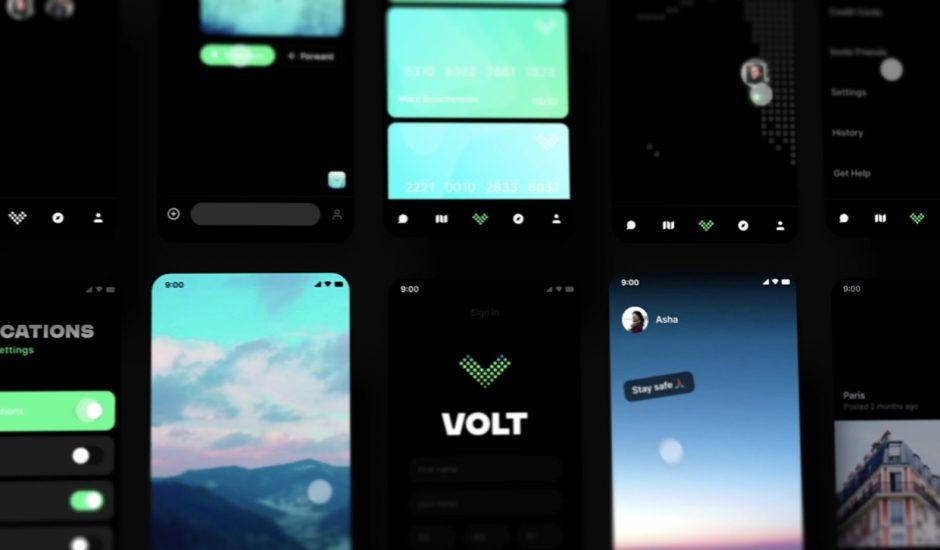 aperçu des prototypes de Volt