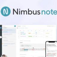 Nimbus Note présentation