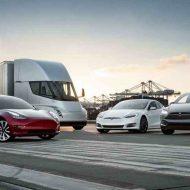Aperçu de véhicules Tesla
