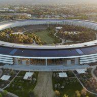 Apple Park, le nouveau siège de la firme à Cupertino en Californie