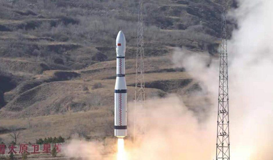Aperçu du lancement de la fusée chinoise.