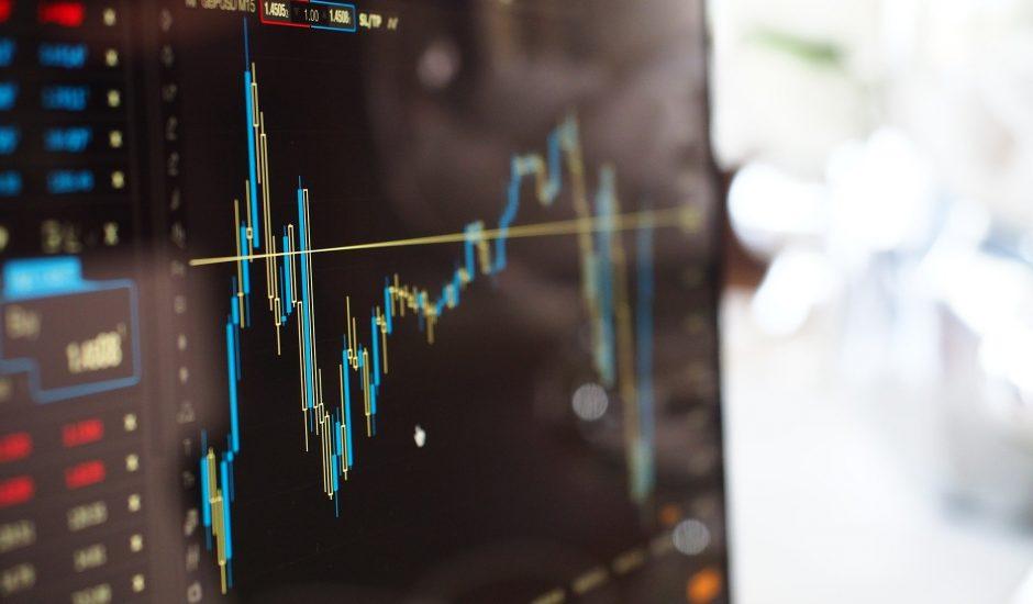 Un graphique montrant les performances d'une entreprise à la bourse.