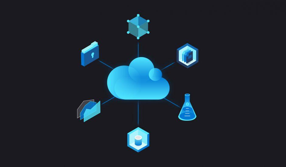 Illustration expliquant le cloud computing.