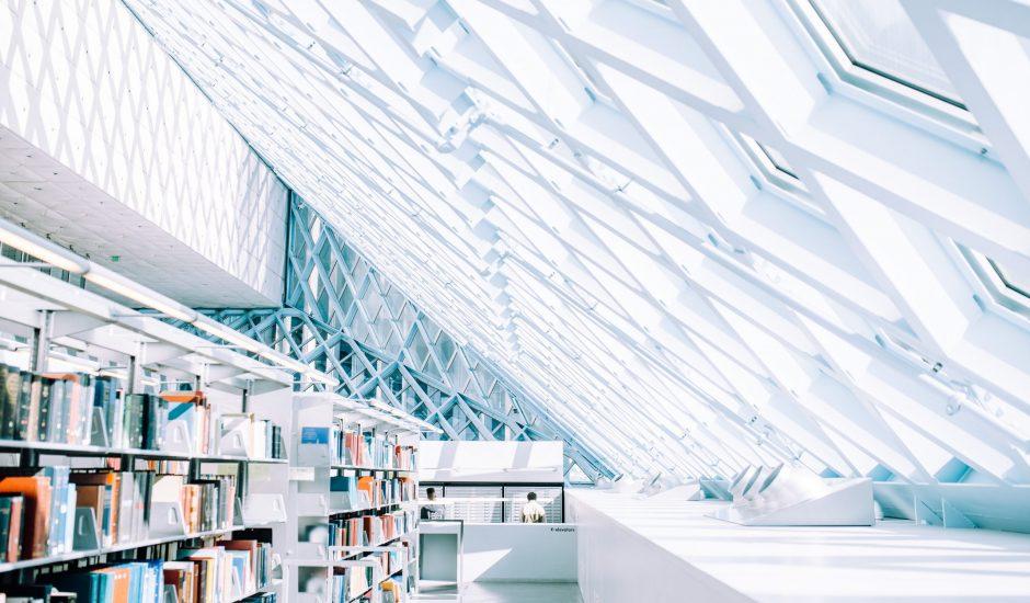 Aperçu d'une bibliothèque.