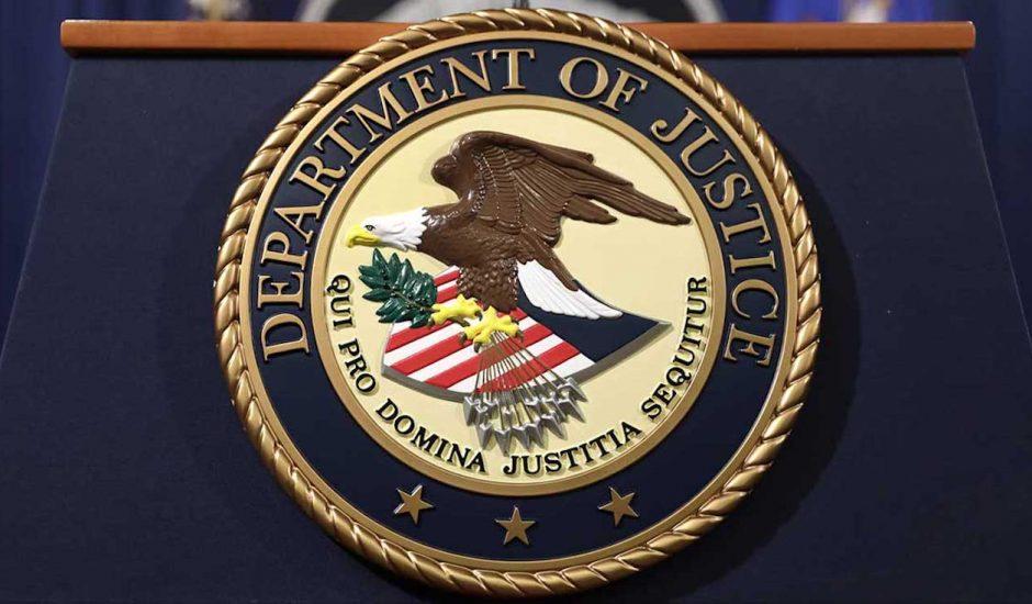 Aperçu du logo du DOJ.