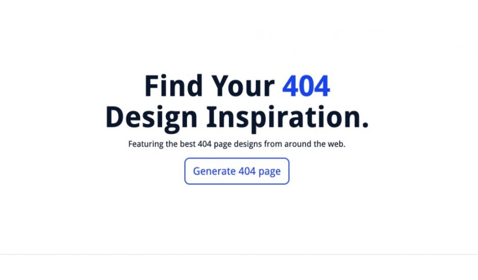exemple page d'erreur 404