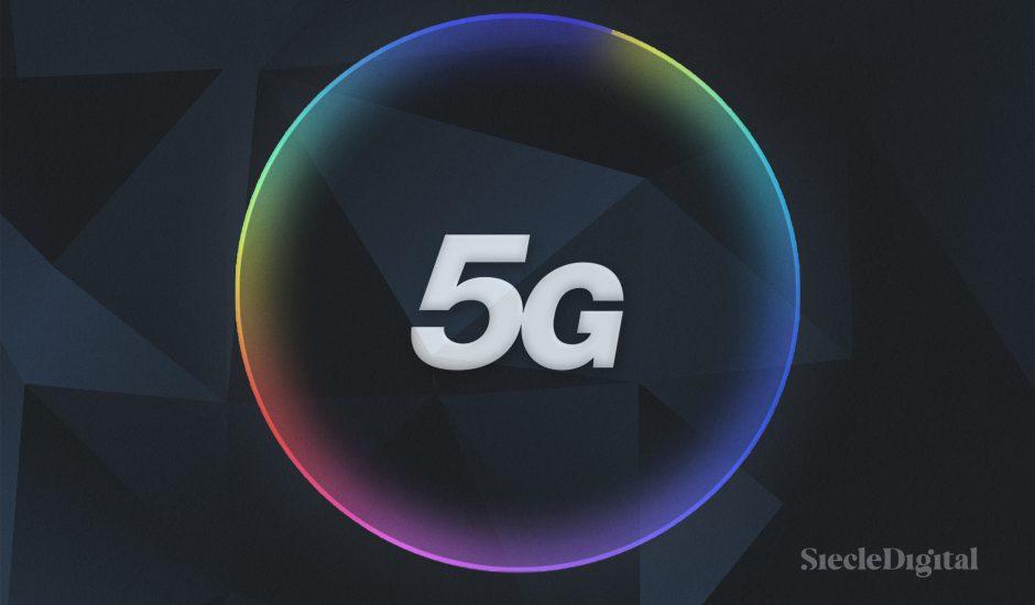Illustration du logo de la 5G