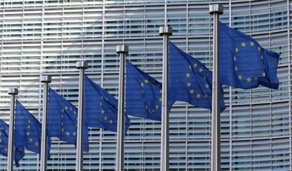 Les drapeaux de l'Europe