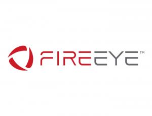 Le logo de l'entreprise de cybersécurité FireEye