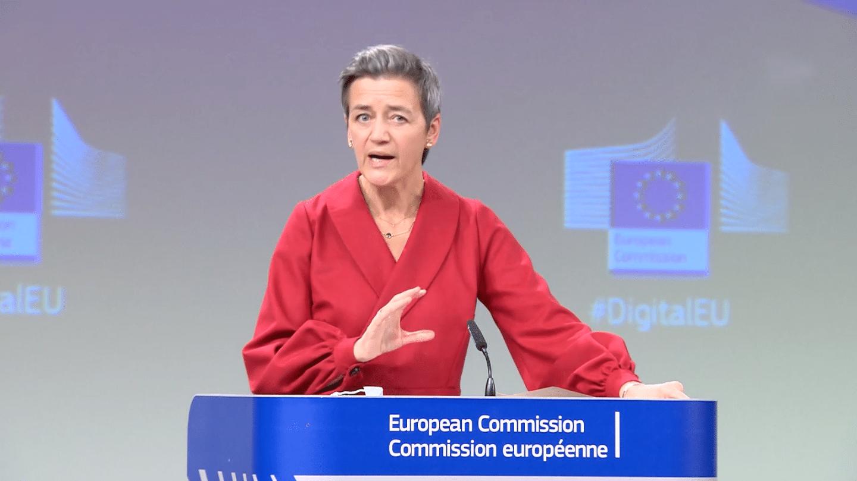 Margrethe Vestager Vice-présidente exécutive de la Commission européenne