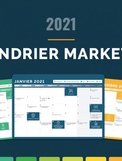 calendrier événements 2021 community management
