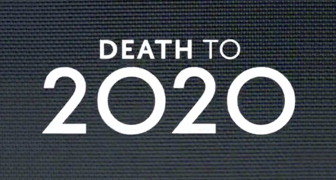 """Capture d'écran du teaser """"Death to 2020""""."""
