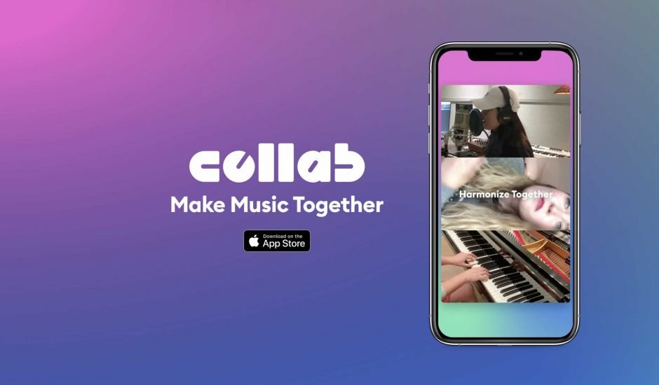 Aperçu de l'app Collab.