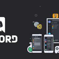 Le logo Discord avec une illustration des différents appareils compatibles.
