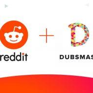 Les logos de Reddit et de Dubsmash côte à côte.