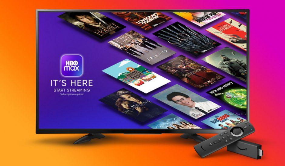 Aperçu de la plateforme HBO Max.