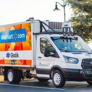 Un camion autonome Gatik.