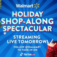 Illutrastation de l'événement shopping Walmart sur TikTok.