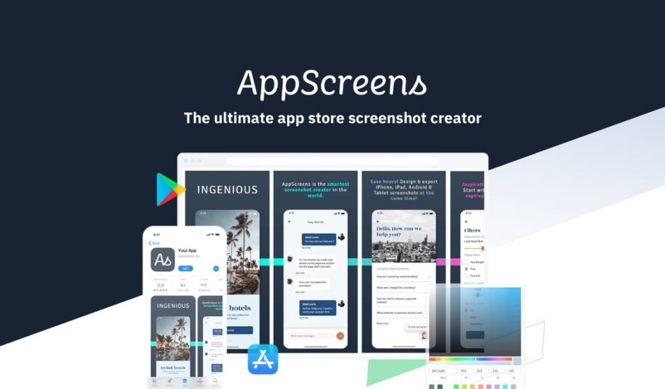 AppScreens présentation