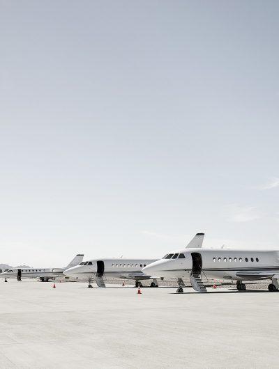 Aperçu des jets privés.