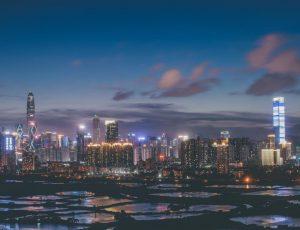 La ville de Shenzhen en Chine